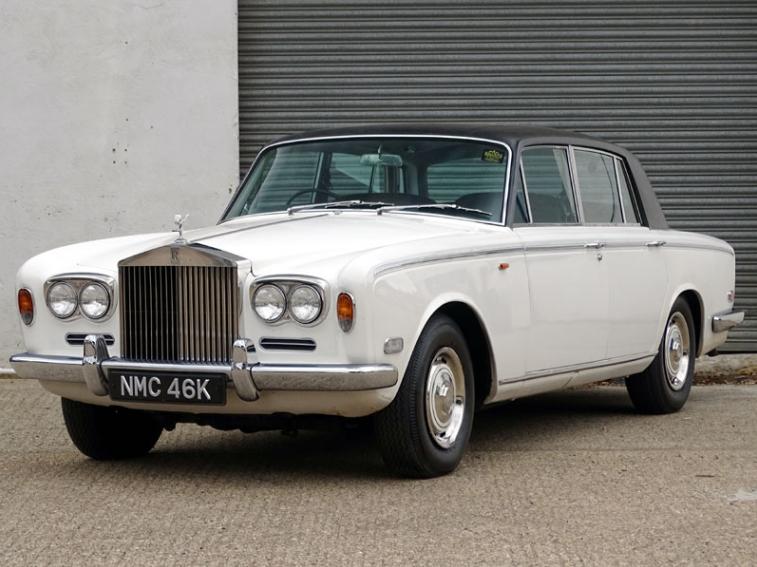 La Rolls-Royce Silver Shadow mise en vente le 12 octobre prochain par H&H Auctions Image: H&H Auctions
