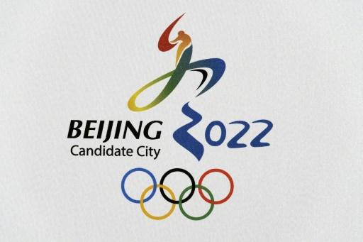Logo de la candidature de Pékin aux JO d'hiver 2022 AFP/Archives  Fabrice Coffrini