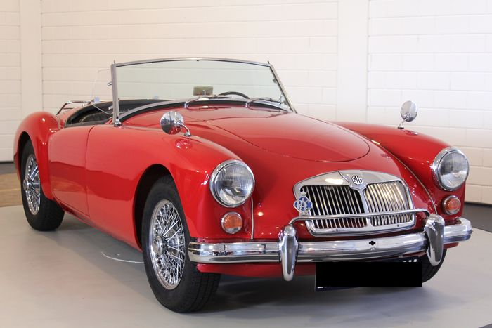 MGA - 1600 Roadster - 1960 Schätzpreis: 35.000-45.500 EUR Ergebnis: 35.000 EUR