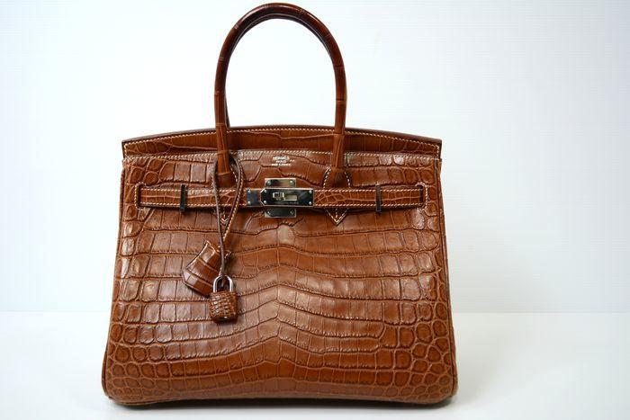 Hermès - Birkin 30, brown crocodile