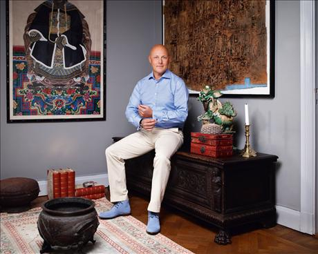 Peter Jordansson arbetar idag som inredare med internationella uppdrag. Foto:Sköna hem