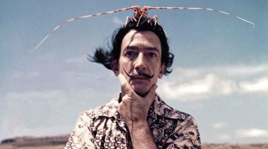 Salvador Dalí. Foto via imagenesmy.com.