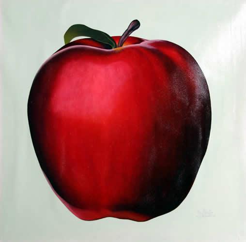 Manuel Servin, Apple, 2006 RoGallery