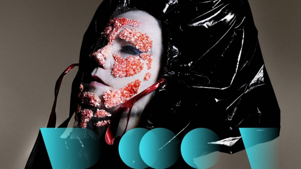 """Björk Digital"" © Photo by Nick Knight. Typography by MMParis"