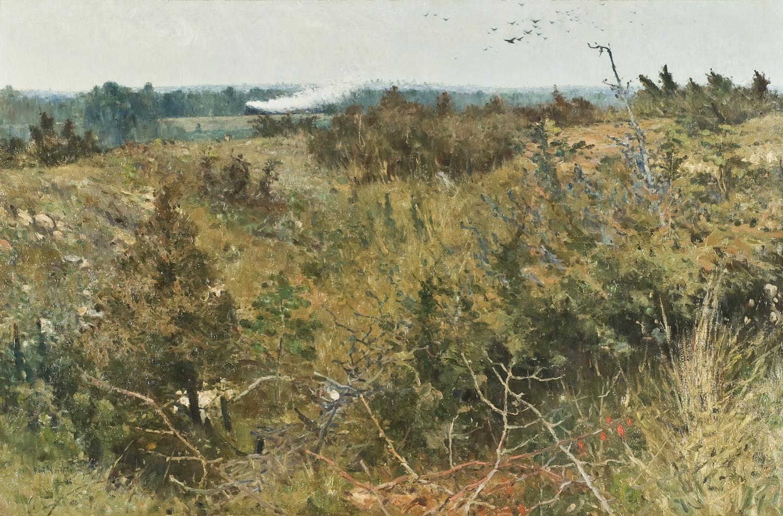 Karl Nordström, Grez-sur-Loing, 1885-86, olja på duk. Foto: Nationalmuseum