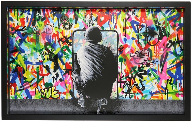 Martin Whatson, 'Zero Tolerance', 2016. Bild: Chiswick
