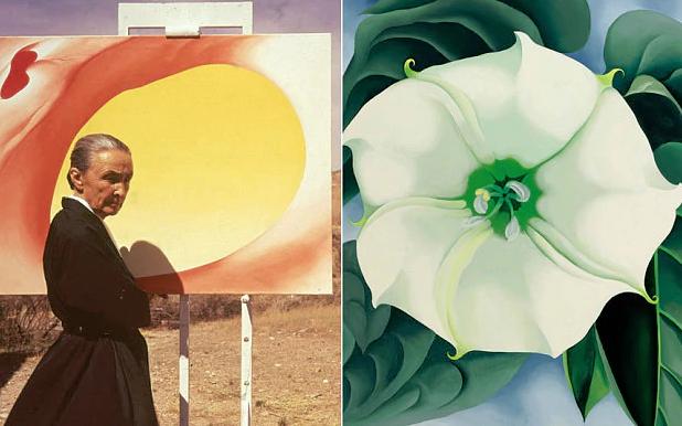 Georgia O'Keeffe (1887 - 1986) Jimson Weed/White Flower No. 1