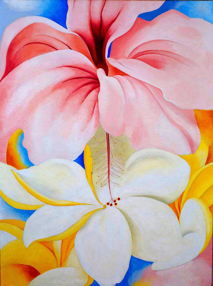 Hibiscus with plumeria (1939)