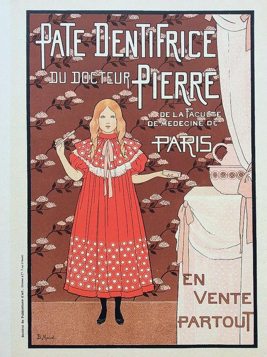 Boutet de Monvel - 'Pate Dentifrice Dr.Pierre Paris' Les Maitres de l'Affiche Catawiki