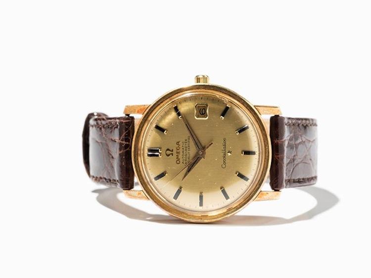 Omega Constellation Chronometer. Estimated at $1 800. Auctionata