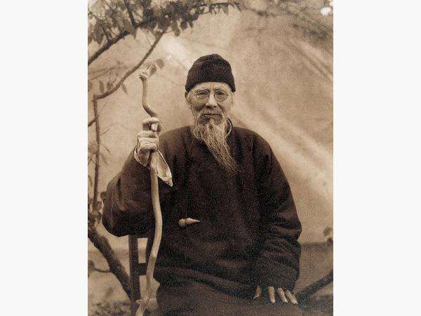 Portrait of Qi Baishi. Photo: China Online Museum
