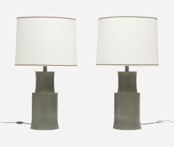 Talienska lampor av G & G Studio e Disegno, c. 1970. Utrop: 23.500 sek. Wright Now
