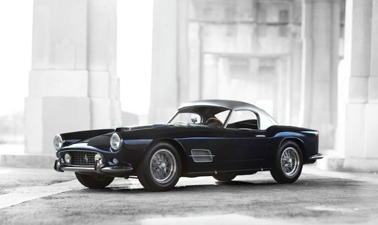 1959 Ferrari 250 GT LWB California Spider av Scaglietti ropas ut för 9-11 miljoner dollar