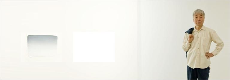 L'artiste coréen Lee Ufan Image via StudioLeeUfan