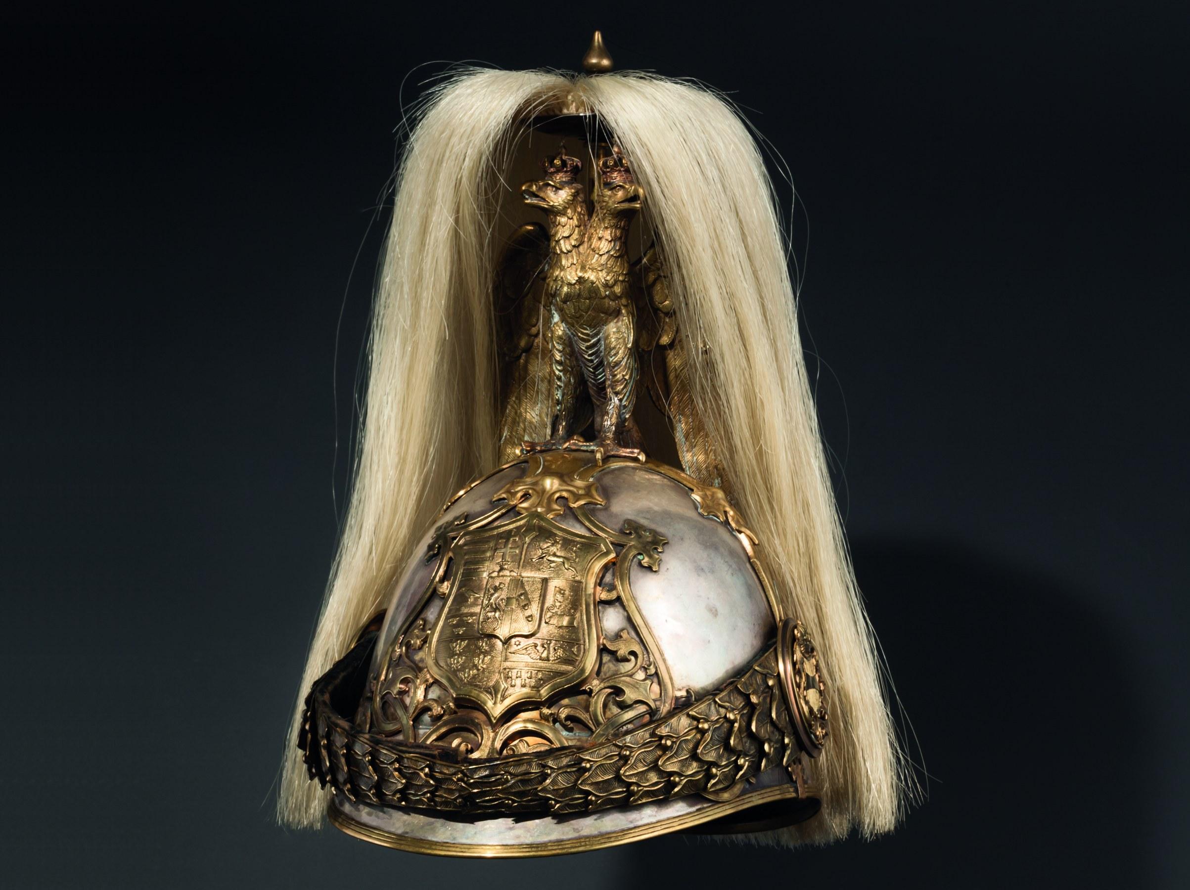 Helm der k. u. k. Ersten Arcierenleibgarde, 1905