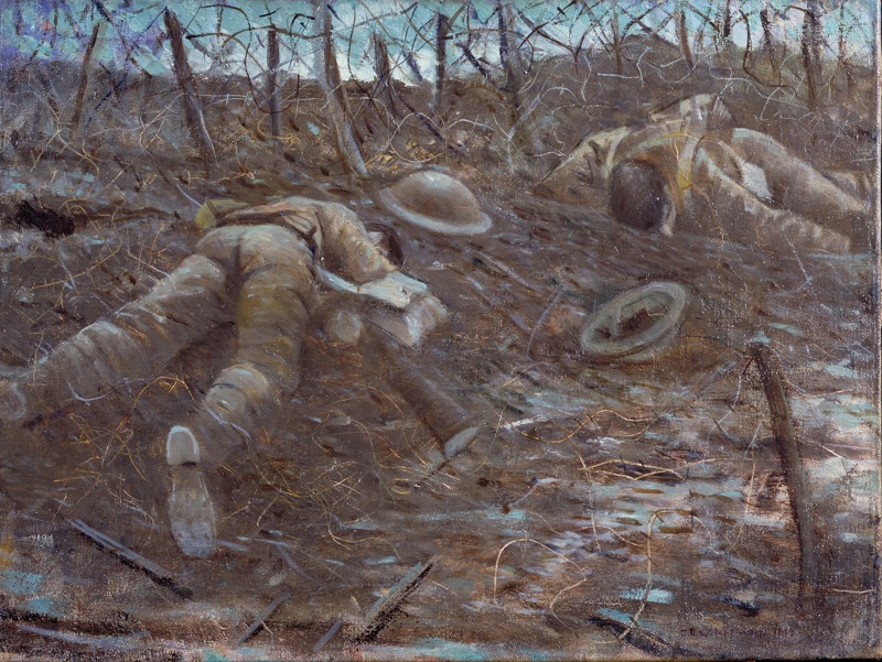 CHRISTOPHER RICHARD WYNNE NEVINSON. Paths of Glory (1917)