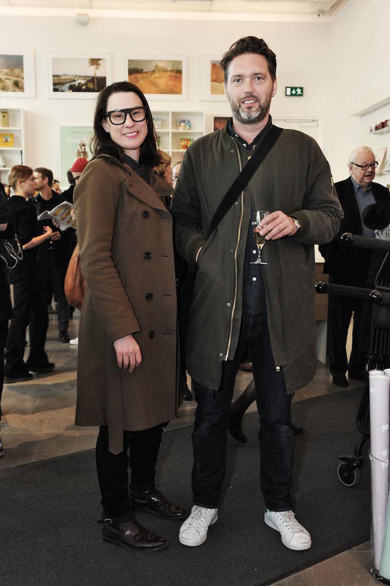 Jenny Danielsson och Ben Loveless