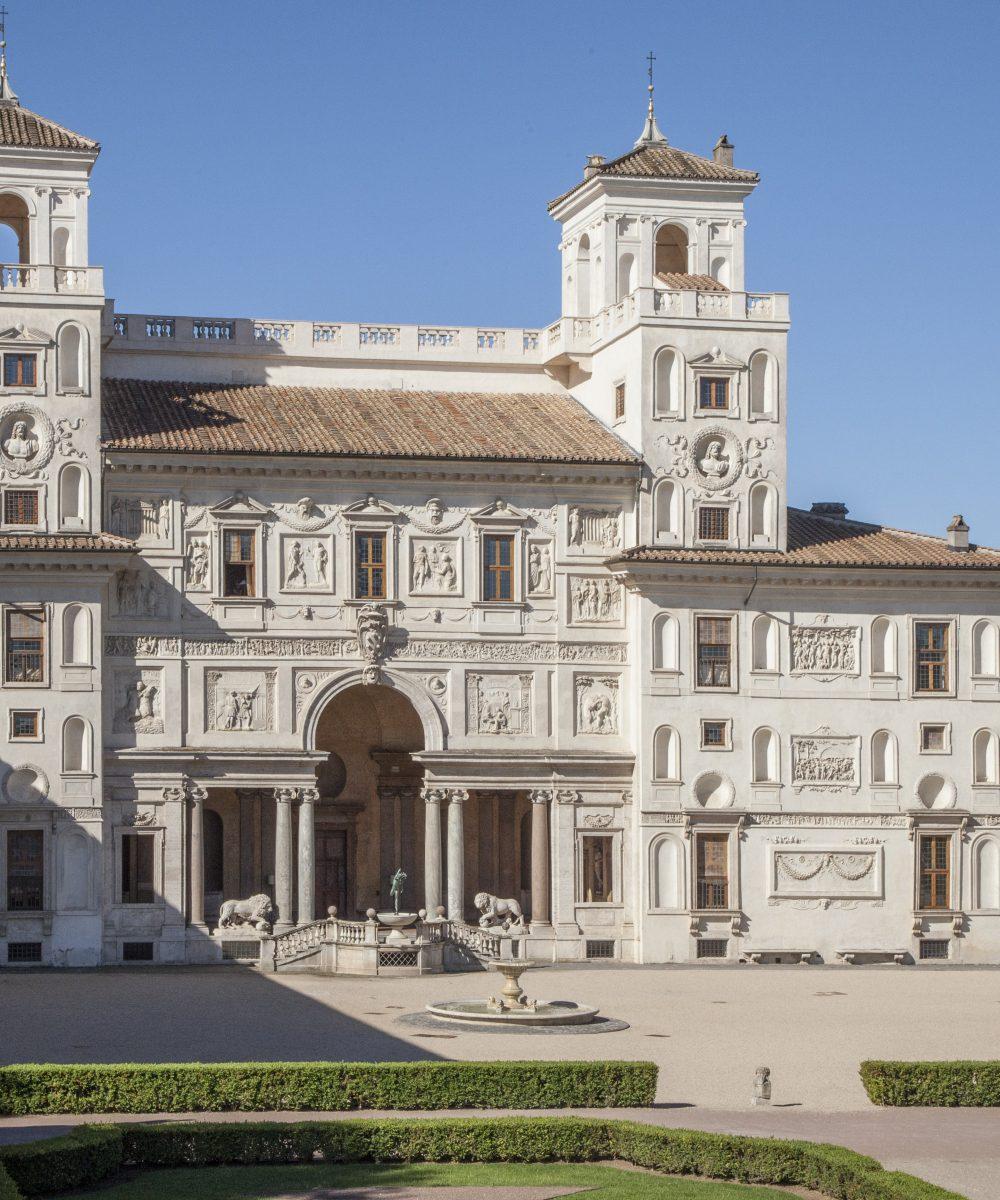 L'Académie française à la Villa Médicis, Rome, image ©Villa Médicis
