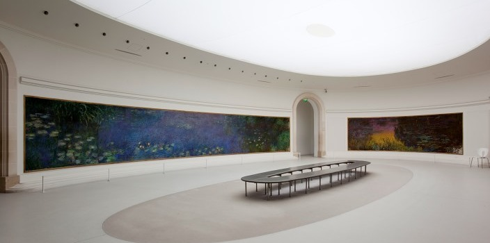 Monet's Water Lilies at Musee L'Orangerie