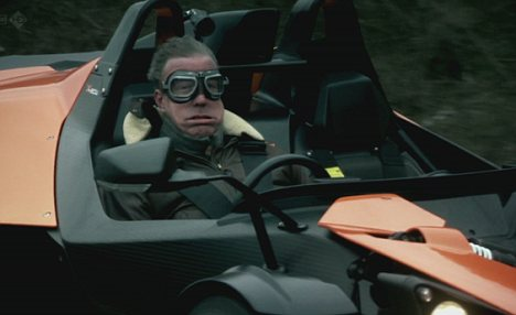 Clarkson driving the KTM X-Bow Image via BBC