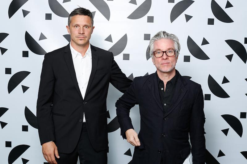 Två av gästerna som ville träffa Rineke var Kalle Sanner, fotograf och Greger Ulf Nilsson, formgivare