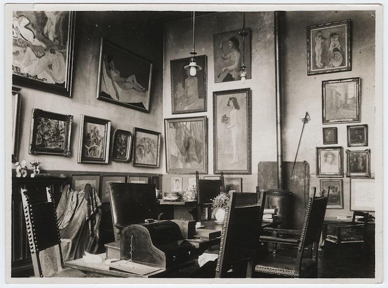 På den tiden då PIacsso-målningen hängde hemma hos tidigare ägare Gertrurd Stein