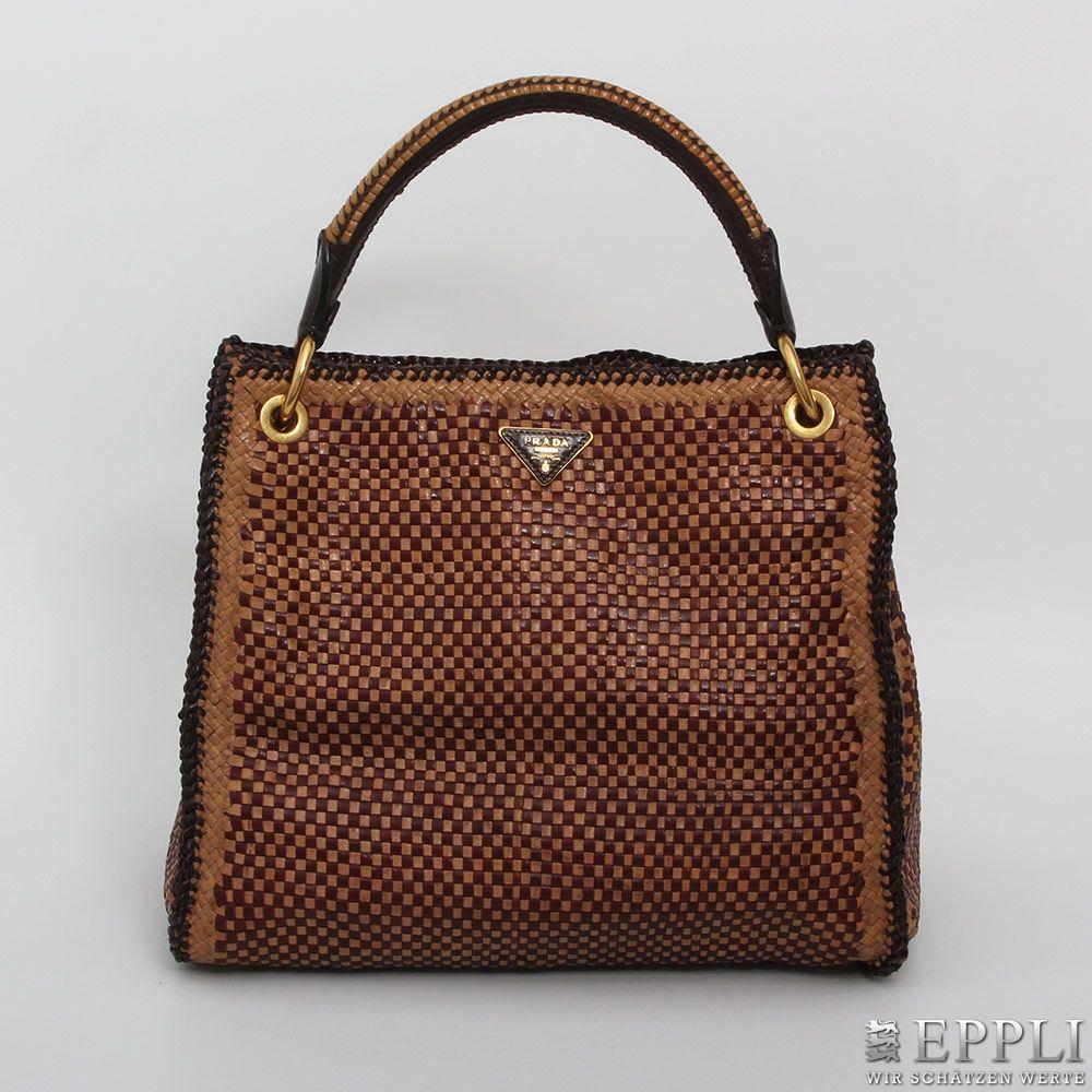PRADA - Madras Hobo Bag aus geflochtenen Ziegenleder, Limited Edition Aufrufpreis: 1.200 EUR