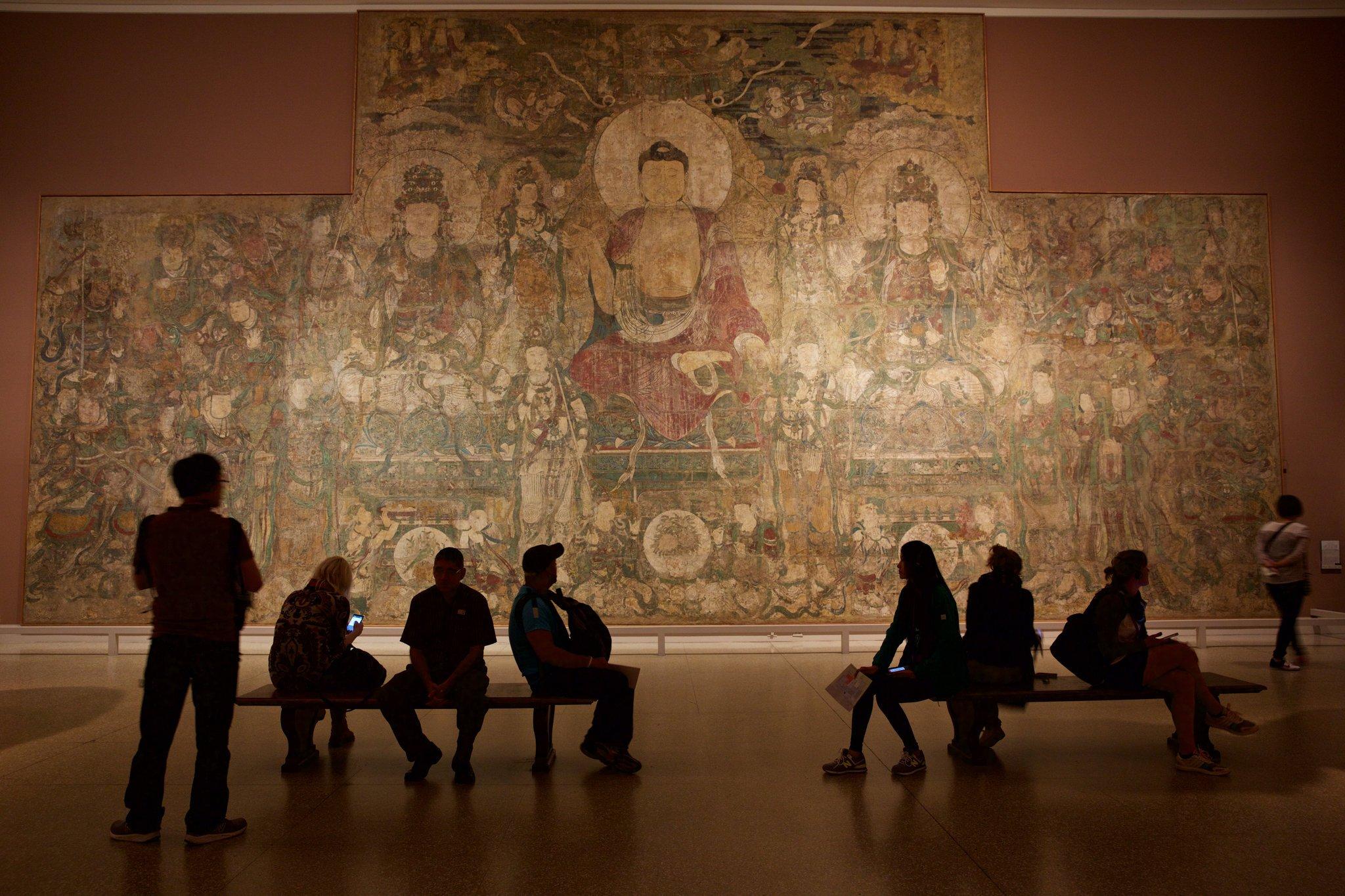L'aile du Met dédié à l'art asiatique. Bien que la fréquentation ait augmenté, le musée connaît de grandes difficultés financières Crédit Benjamin Norman pour le New York Times