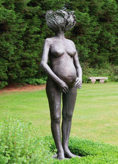 Claude Lalanne, Caroline enceinte. Die Vorlage entstand 1969. Unser Exemplar wurde 1978 erschien und 1985 realisiert.