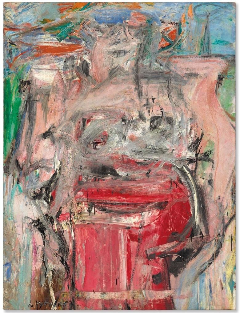 Willem de Kooning, 'Woman as Landscape', 1954-55. Bild: Christie's