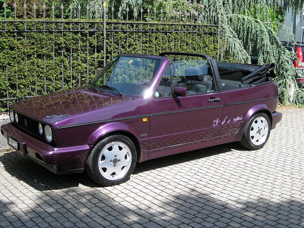 VW Golf 1 Cabriolet (Sondermodell Genesis), 1993