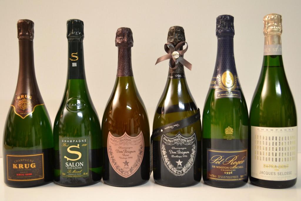 Champagner-Auswahl 1996, Champagne Schätzpreis: 2.100-2.500 EUR