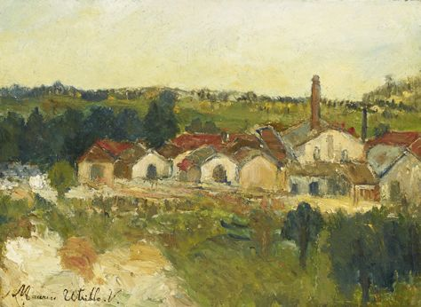 Maurice Utrillo, Carrières, Montmagny (Val d'Oise), circa 1907. Galerie Alexis Pentcheff