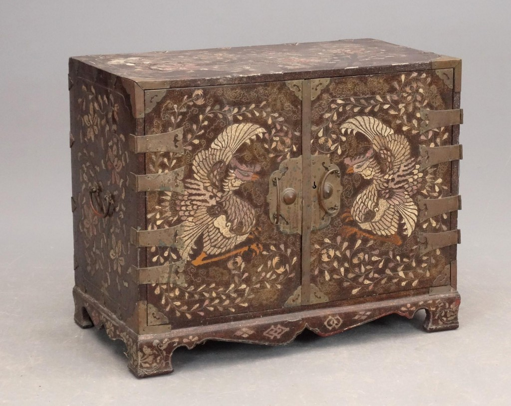 Asian two drawer chest