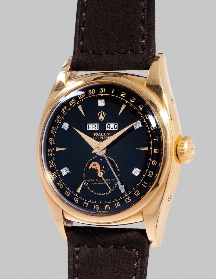 Världens dyraste Rolex såld på auktion. Såldes i våras för närmare 45 miljoner kronor på Phillips klockauktion