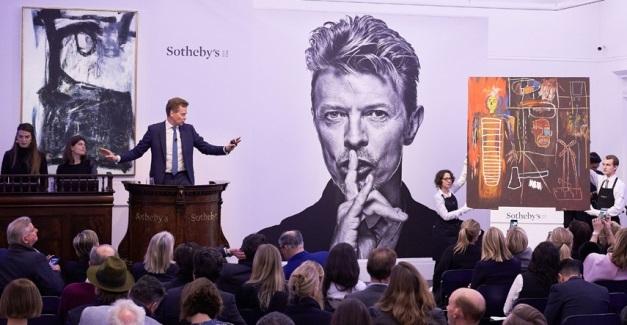 Londres, noviembre de 2016. La subasta Bowie/Collector ascendió a 394 millones de euros. El 62% de los postores participaron online y el 71% eran nuevos en Sotheby's.