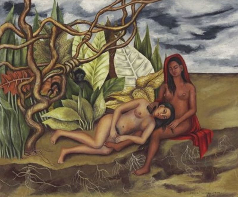 Frida Kahlo, Dos Desnudos en el Bosque (La Tierra Misma) | Abb.: ©Christie's