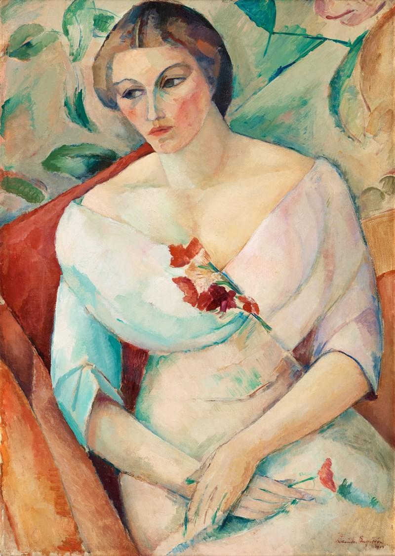 """""""Konstnärens hustru"""", 1931. Foto: Bukowskis."""