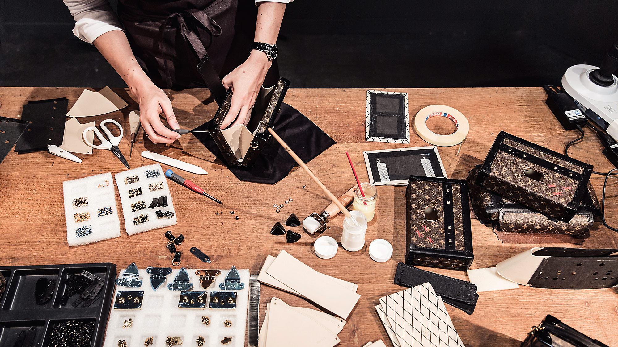 Sant hantverk. Bild: Louis Vuitton