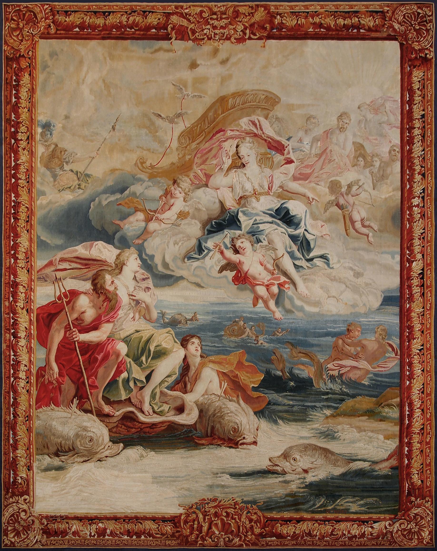 "Brussels XVIII ""History Of Neptune"" 360 X 285 cm"