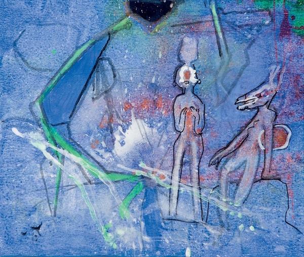 Objekt 161: Roberto Matta (1911- 2002). Veraguas. Olja på canvas. Startpris: 186 000 kronor.