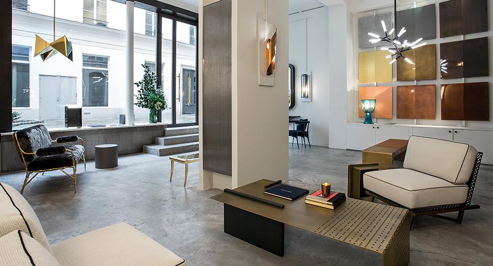 La galerie Pouenat à Paris © Galerie Pouenat