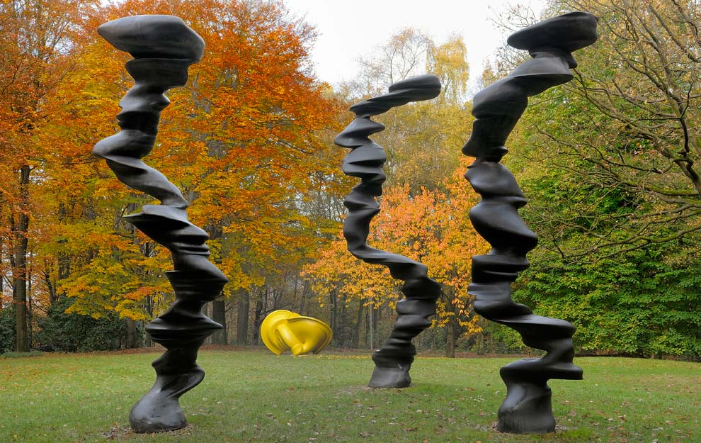 Tony Cragg, Points of View, 2007, image via Wall Street International Magazine