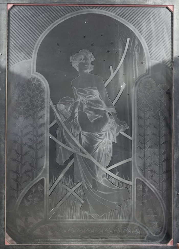 Fönster som tidigare suttit på Casino Mercantile Zaragoza. Lot 864. Utrop: 34.600 SEK