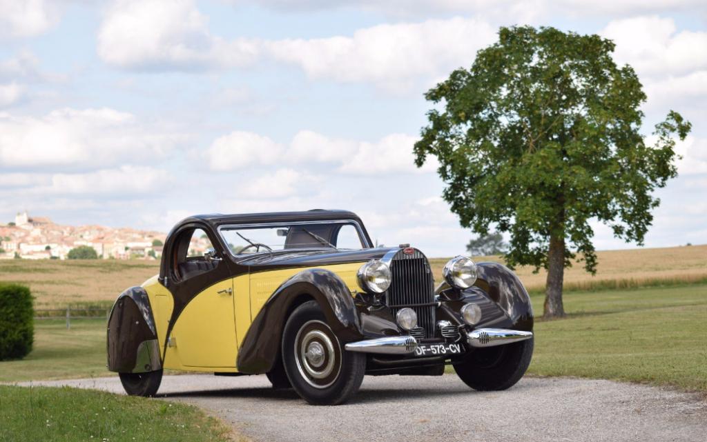 1935 Bugatti Type 57 Atalante découvrable