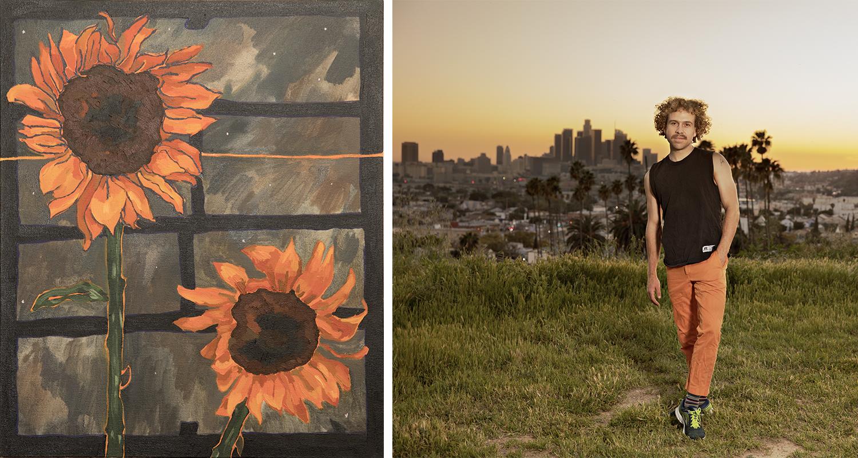 Alex Chaves, 'Sunflowers, 2018'. Foto: Daniel Sahlberg © T-a-c-k -!
