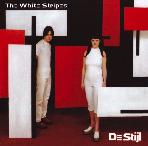 "Cover des Albums ""De Stijl"" der White Stripes (2000)"
