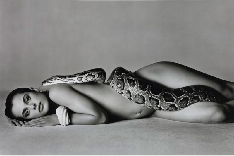 """Richard Avedon, """"Nastassja Kinski and the Serpent"""" Bild: Sotheby's."""