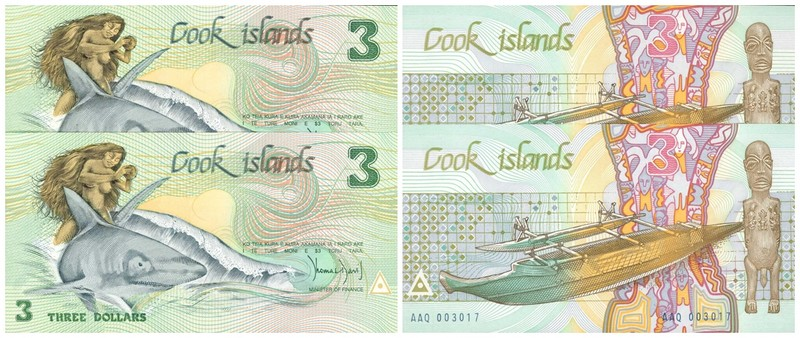ISLAS COOK. Dólares