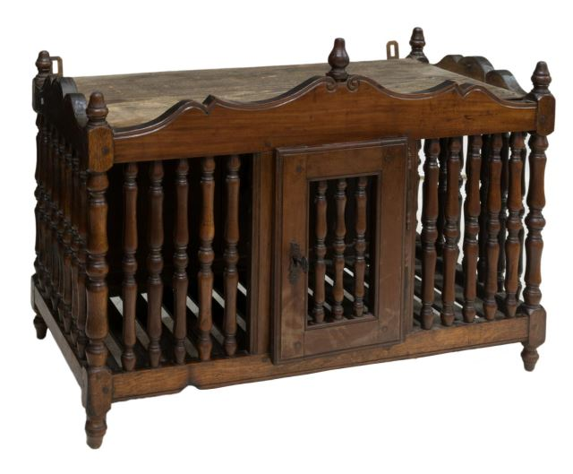 French Panetiere, late 19th c., from Austin Auction Gallery